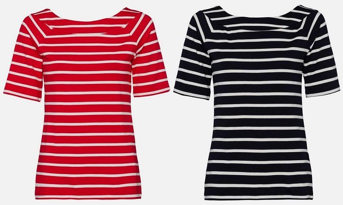Hot! More & More Damen Ringelshirt in 3 Farben für je nur 9€ (statt 24€)