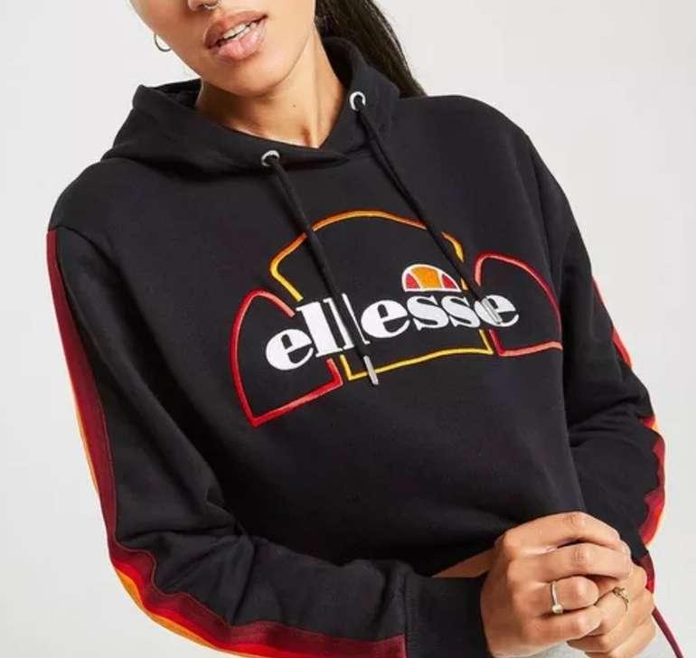 Ellesse Rainbow Tape Crop Damen Hoodie für 34€ inkl. Versand (statt 49€)