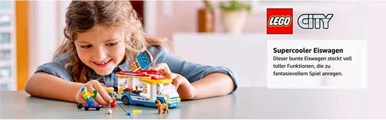 Lego Eiswagen City (60253) mit Skater- und Hundefigur