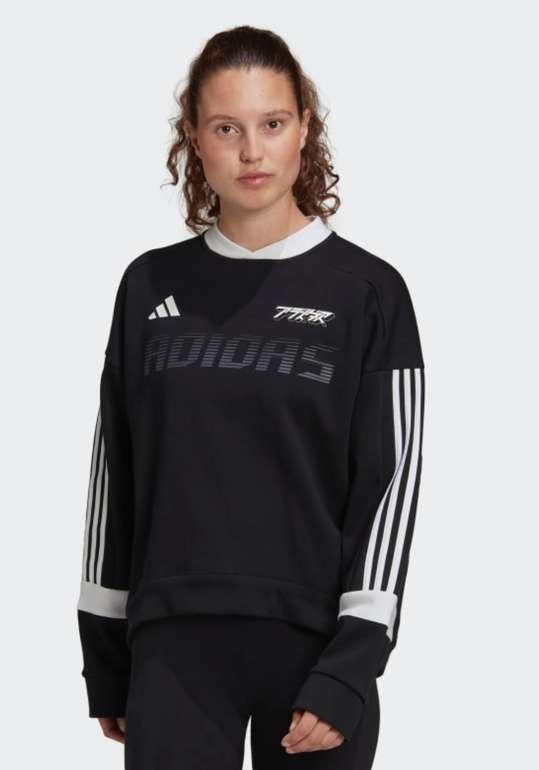Adidas Damen Colorblock Sweatshirt für 33,57€ inkl. Versand (statt 48€)