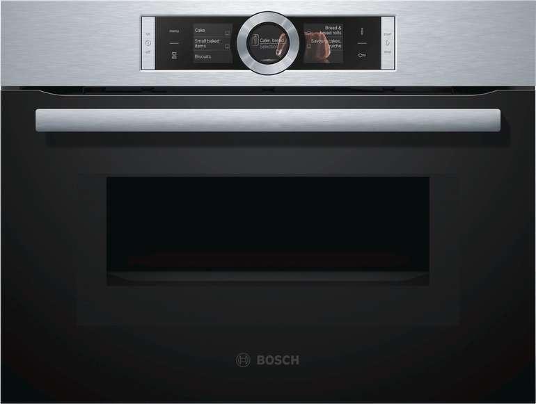 Bosch CMG676BS1 Mini-Einbaubackofen mit 45 L (mit Mikrowelle) für 686€ inkl. Versand (statt 1.464€)