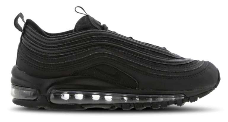Nike Air Max 97 Sneaker in triple-black (Grundschule) für 69,99€ inkl. Versand (statt 125€) - Größe 35,5 bis 38,5!