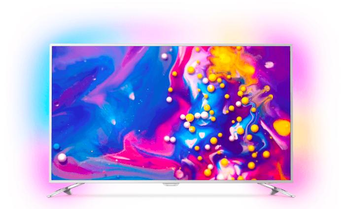 """Bestpreis! Philips 49PUS7272 49"""" 4K TV mit Ambilight für 499€ (statt 759€)"""