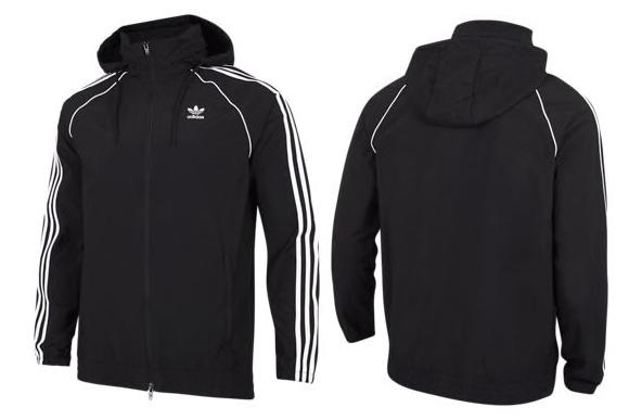 Adidas Adicolor Superstar Herren Windbreaker für 31,98€ (statt 44€)