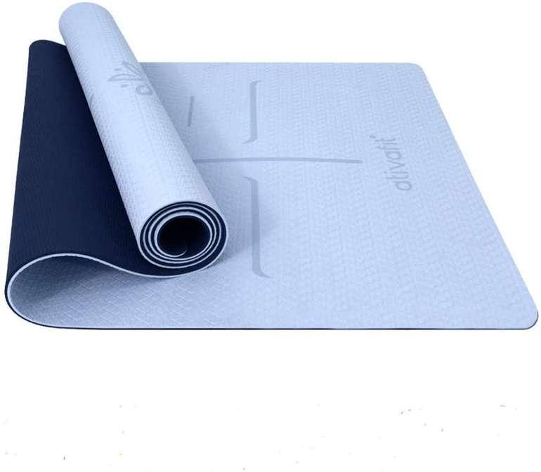 Ativafit TPE Gymnastik- bzw. Yogamatte (183 x 64 x 0,6 cm) für 12,49€ inkl. Prime Versand