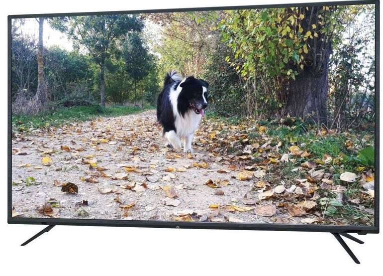 JTC Galaxis 5.0 N – 50 Zoll UHD 4K LED Smart-TV mit Android für 226,95€