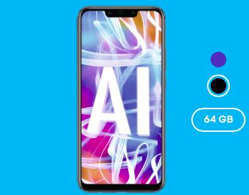 Huawei Mate 20 Lite (einmalig 4,95€) + Blau Allnet L (3GB LTE) für 14,99€ mtl.