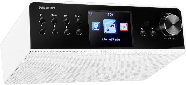 """Medion P85063 WLAN Unterbau-Internetradio (3,2"""" TFT-Display, DAB+) für 49,95€"""