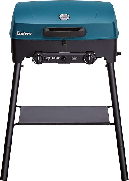 Enders 2102 Explorer Camping Gasgrill (Grill-Thermometer, 2 Brenner) + Pizzastein für 158,99€ inkl. Versand