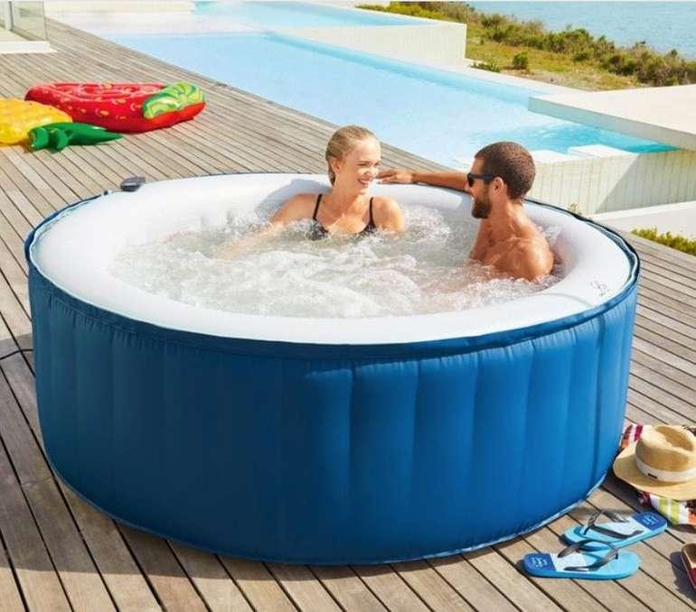 mSpa Whirlpool (aufblasbar, Ø 180 x H 70 cm, bis 4 Personen, 700 Liter) für 233,95€ inkl. Versand (statt 480€)