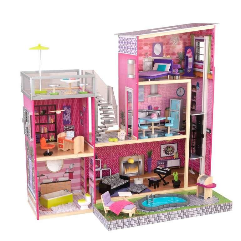 KidKraft 65833 Puppenhaus Uptown für 150,14€ inkl. Versand (statt 195€)