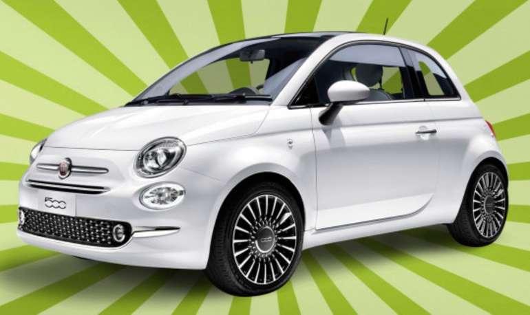 3 Privat Leasing Angebote bei LeasingDeal - z.B. Fiat 500 Pop Star für 77€ mtl. (ohne Anzahlung)