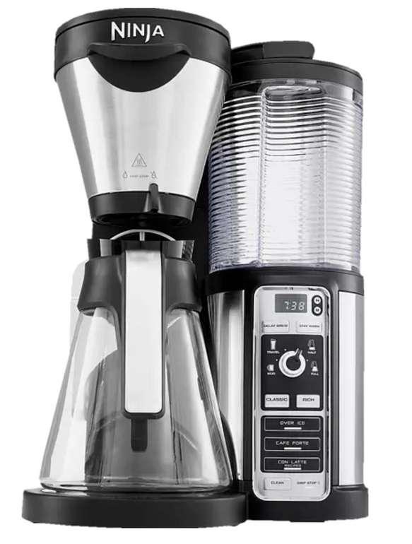 """Ninja Kaffeemaschine """"CF060EU"""" in Schwarz/Silber für 41,53€inkl. Versand (statt 50€)"""