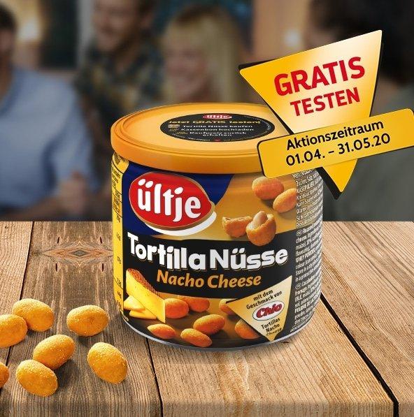 Ültje Tortilla Nüsse Nacho Cheese gratis testen (GzG)