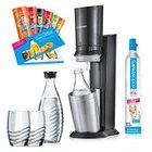 Sodastream Wassersprudler Crystal 2.0 Promopack mit 2 Karaffen und 2 Gläsern für 99,95€ inkl. Versand
