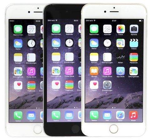 Apple iPhone 6 Plus mit 16GB als B-Ware in Gold für 289€ (statt 450€)