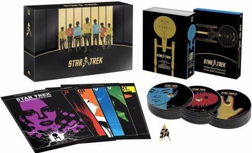 Star Trek - 50th Anniversary Collection / Limited Edition (Blu-ray) für 57,54€