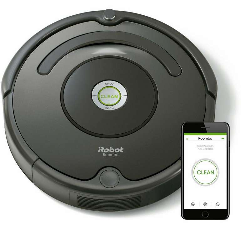iRobot Roomba 676 Staubsaugroboter für 189€ inkl. Versand (statt 240€)