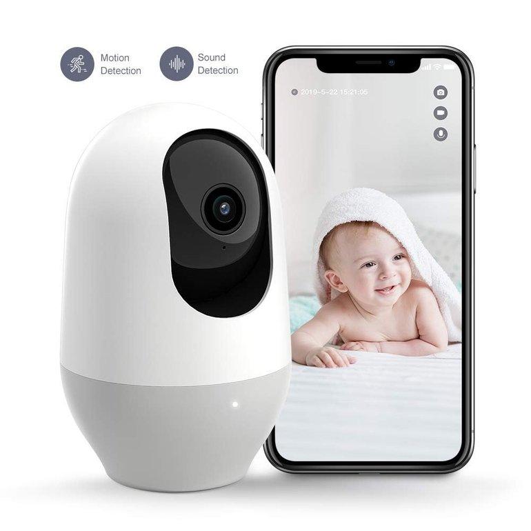 Nooie WLAN Überwachungskamera mit 1080p für 29,99€ inkl. Versand (statt 60€)