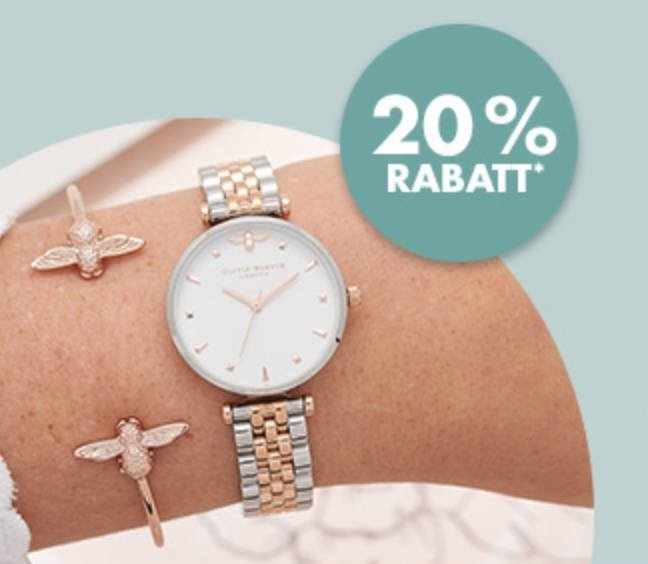 Karstadt Sonntags-Kracher – z.B. 20% Rabatt auf Uhren & Schmuck