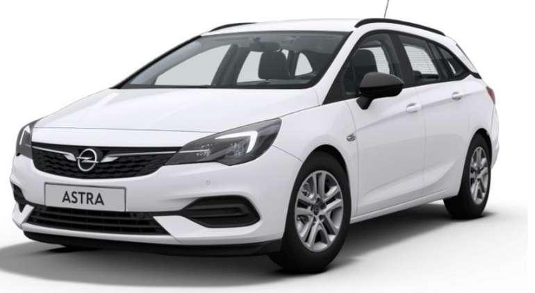 Gewerbeleasing: Opel Astra K ST Edition mit 110 PS für 66€ netto mtl. (LF: 0.32, Überführung: 995€)