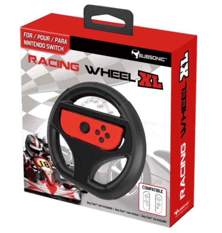 Nintendo Switch Racing Wheel XL Lenkrad für 7,98€ inkl. Versand (statt 17€)