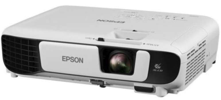 Epson EB-W42 Beamer (3LCD, HD WXGA, 3.600 Lumen, 15.000:1 Kontrast, 1.2x Zoom) für 373,61€ (statt 460€)