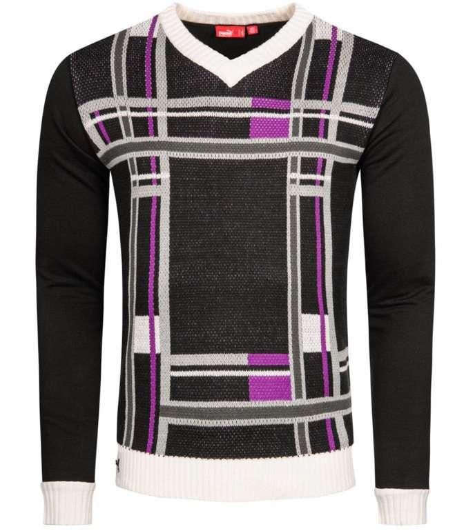 Puma Herren Crofter V-Neck Sweatshirt Pullover für 8,03€ inkl. Versand