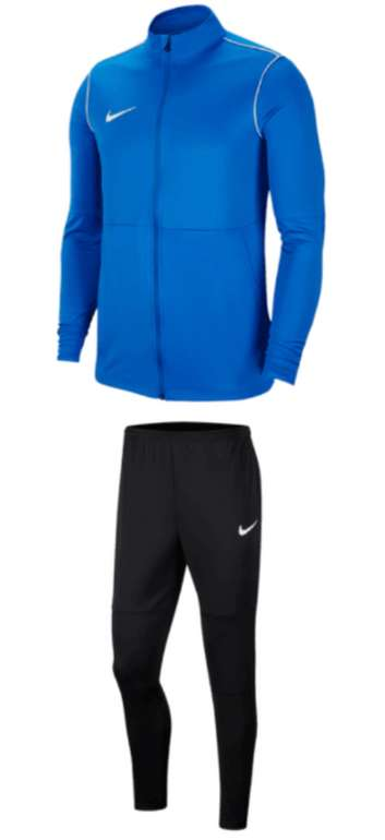 Nike Trainingsanzug Park 20 (vers. Farben) zu je 34,95€ inkl. Versand (statt 43€)