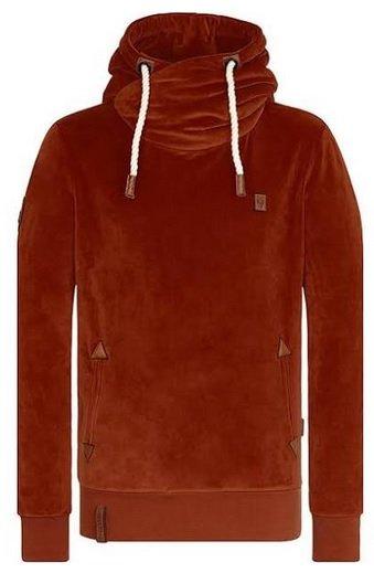 Schnell? Naketano Herren Sweatshirt in rostrot für 13,96€ inkl. Versand