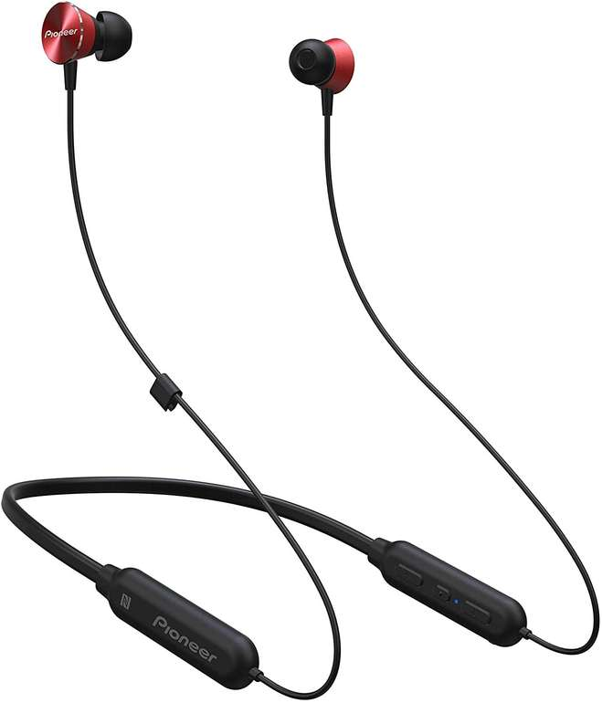 Pioneer SE-QL7BT(R) Bluetooth Sport In Ear Kopfhörer für 15,99€ inkl. Versand (statt 32€)