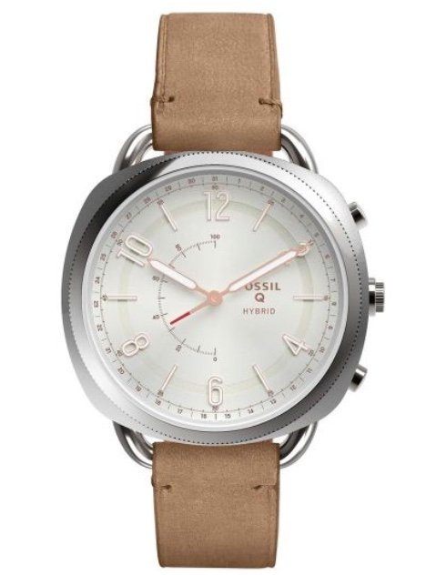 Fossil FTW1200 Damen Hybrid-Smartwatch mit Lederarmband für 78,32€ (statt 101€)