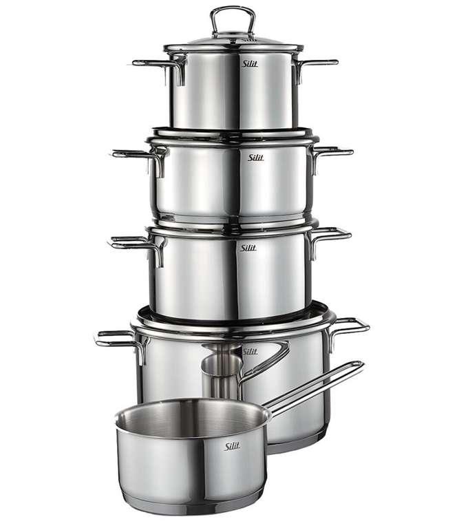 """Galeria mit 20% Rabatt auf viele Küchenprodukte - z.B Silit Kochtopf-Set """"Alicante"""", 5-teilig für 79,99€ (statt 92€)"""
