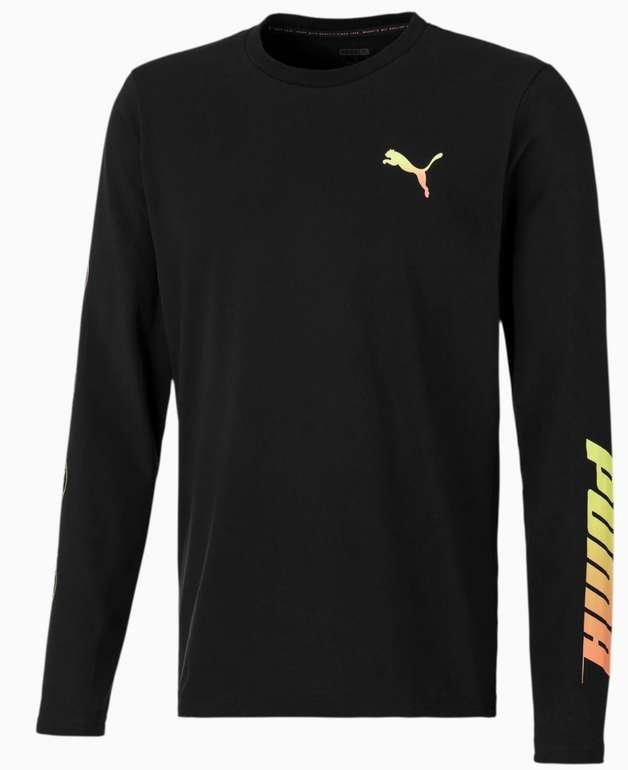 Puma XBU Neon Graphic Herren Langarm-Shirt in schwarz für 20,43€ inkl. Versand (statt 45€)