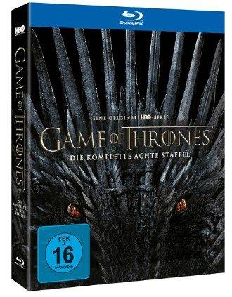 Media Markt: 20% Rabatt auf das Gesamte Musik-, und Filmsortiment z.B. Game of Thrones Staffel 8 für 26,98€