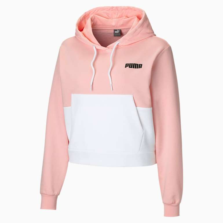 Puma Damen Hoodie in Rosa und Weiß für 33,60€ inkl. Versand (statt 60€)