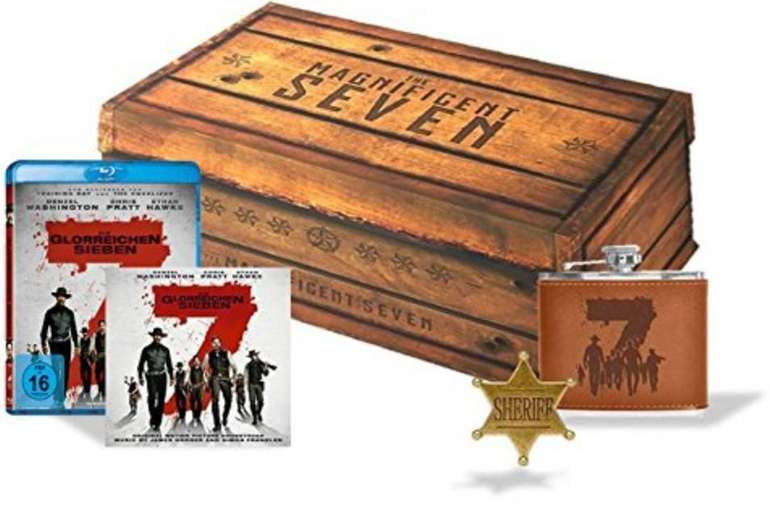 Die glorreichen Sieben (Collector's Box) für 17,93€ inkl. Versand (statt 25€)