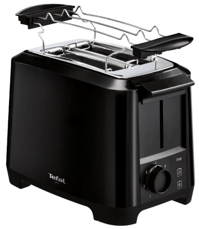 TEFAL TT1408 Uno Toaster Schwarz für 21€ inkl. Versand (statt 50€)