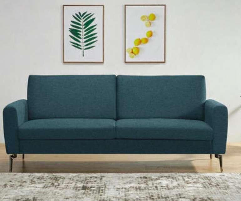 CarryHome Schlafsofa (Webstoff, 120 x 180 cm Liegefläche) in blau für 153,30€ bei Abholung (Versand + 39,95€)