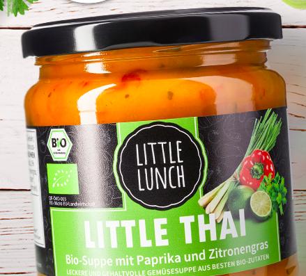 6 Little Lunch Suppen gratis ab 10€ - z.B. 9 Suppen für 13,95€ inkl. Versand
