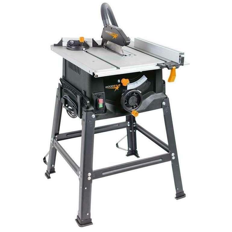 Scheppach Woodstar ST10S Tischkreissäge mit 2000W für 89,90€ inkl. VSK