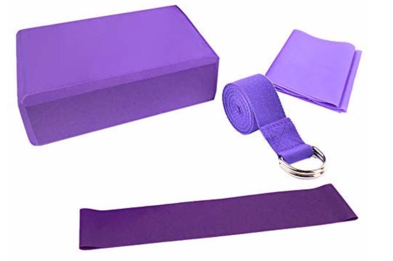 4-tlg. Lixada Yoga Set für 7,49€ inkl. Prime Versand (statt 15€)