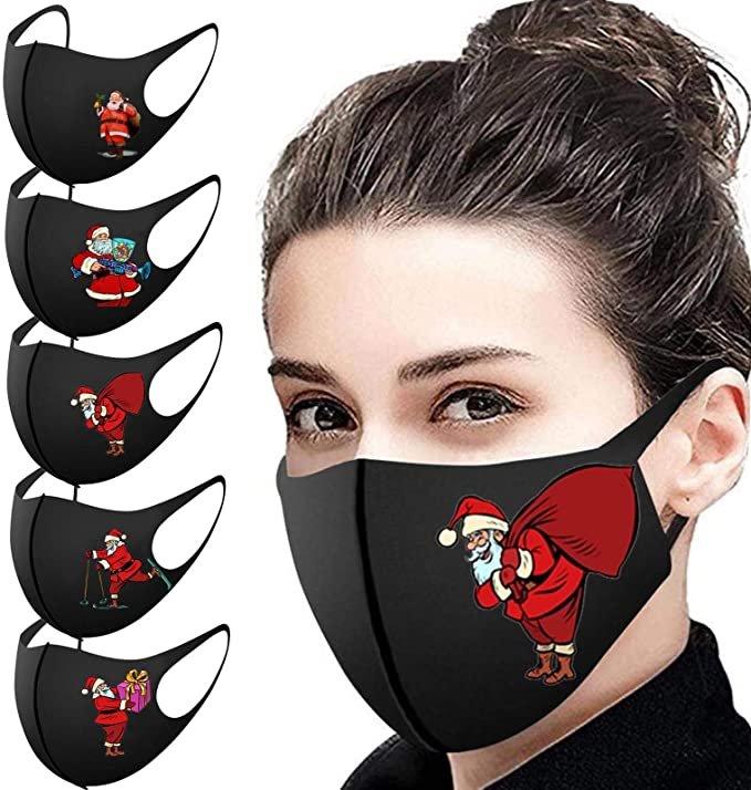 Leedy Mund-Nasen-Masken im 5er Pack (verschiedene Designs) für je 3,20€ inkl. Versand (statt 12€)