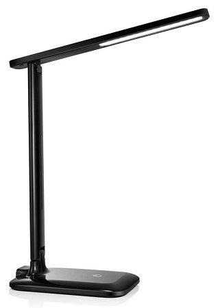 VICTSING - LED Schreibtischlampe mit 3 Farb- und 3 Helligkeitsstufen für 15,39€