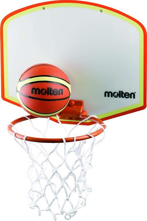 Molten Basketballboard KB100V für 14,90€ inkl. Prime Versand (statt 19€)