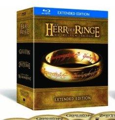 """""""Der Herr der Ringe"""" Trilogie - Extended Edition auf Blu-ray für 38,98€"""