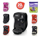 <mark>Bosch</mark> Tassimo Happy <mark>Kapselmaschine</mark> + Milka Bonbons + 20€ <mark>Gutschein</mark> für 29,99€