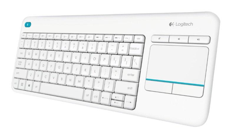 Logitech K400 plus - schnurlose Tastatur mit Touchpad für 19,99€ mit Prime
