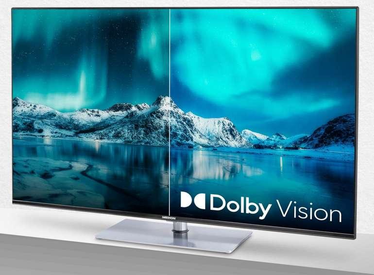 Medion X14360 Fernseher mit 43 Zoll (4K UHD, Smart LED TV, HDR 10) für 279€ inkl. Versand (statt 330€)