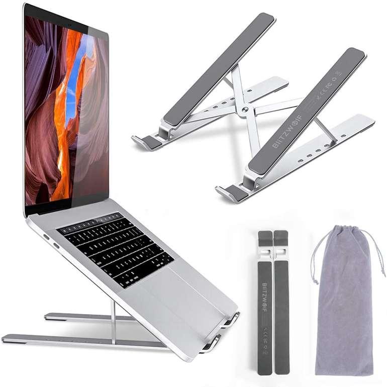 BlitzWolf verstellbarer Laptop Ständer für 17,49€ inkl. Prime Versand (statt 25€)